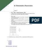 Exercícios de Matemática Raciocínio Lógico