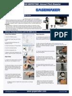 PD-6000 Thread Diameter