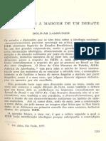 Bolívar Lamounier. O ISEB Notas à Margem de Um Debate.
