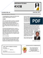 June July Newsletter 2014