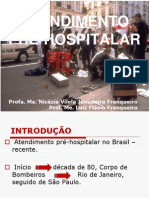 Atendimento Pré-hospitalar - UNI 1 Aula 2012-1