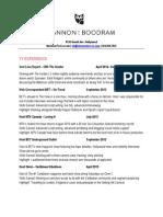 Shannon T Boodram Resume