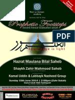 Prophetic Footsteps Annual Jalsah