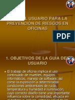 Guia de Prevencion de Riesgos en Oficina