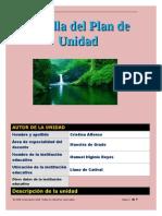 plantilla plan de unidad