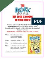 Dork Diaries Flyer