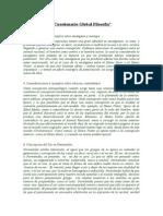 Cuestionario Global Filosofía