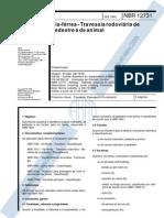 NBR 12731 - 1992 - Via Férrea - Travessia Rodoviria de Pedestre e Animal.pdf