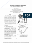 Experimental Verification of Modeling of DELTA Robot Dynamics by Direct Application of Hamilton's Principle