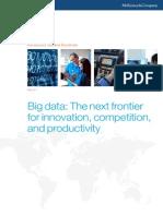MGI Big Data Exec Summary