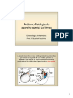 1 Anatomo-fisiologia Do Aparelho Genital Feminino