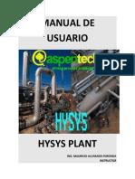 Manual de Usuario Hysys