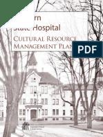 Western State Hospital Cultural Resource Management Plan DSHS 2011