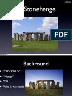 stonehenge geometry project