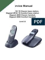 Siemens Gigaset 4000 Comfort Handset - Service Manual_Siemens-1162