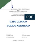 Caso Clinico Colico Nefritico (Lourdes)