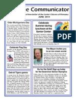 Communicator Senior Newsletter - June 2014