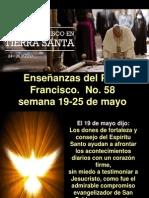 Enseñanzas Del Papa Francisco - Nº 58