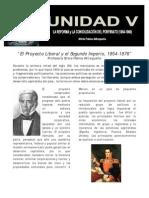 UNIDAD v Reforma y Segundo Imperio