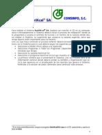 Manual Del Usuario de NutriKcal SA