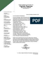 Acuerdo Con Laboratorios Diciembre 2013 Para Trabajo en 2014