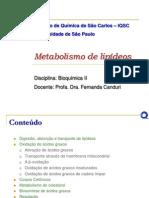 Metabolismo de Lipídeos2