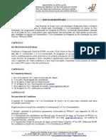 Edital - Processo Eleitoral Do Ppgarc