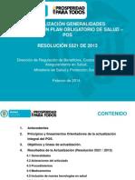 Presentación Socialización POS 2014