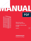 Sunways SI NT1phase900V Manual ES 09-10
