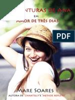 Amor de Tres Dias - Mare Soares
