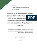 Proyecto de Tesis, Ella Farías de La Cruz