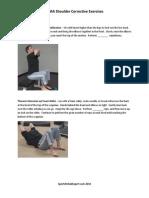 SFMA Shoulder Corrective Exercises by  SportsRehabExpert.com (c) 2010