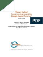 Flag on the Bag_102909_SamWorthingtonTestimony