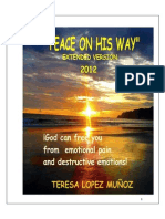 Peace on his way. CHRISTIAN INNER HEALING,