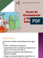 Areas de Crecimiento - Objetivos Educativos 2012