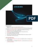 Arkbird Manual