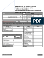 DSE SREG for 0020 Estados Financieros
