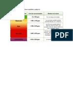 Niveles de Monoxido de Carbono Aceptables y Peligroso