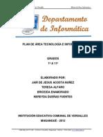 Plan de Area Informatica Iecov