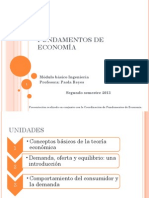 Unidad 3.1 Fund. de Econom A