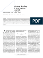 Reading Intervention 1