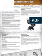 Dust Tactics - Tournament RulesV2