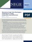 Manmohan Singh Visits Washington