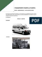 Servicio de Transporte Puerta a Puerta - Renault Todo