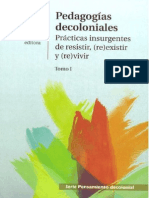 Catherine Walsh -Pedagogías Decoloniales