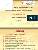 Doc 02 Matrizes Conceituias Para a Elaboração de Projetos de Pesquisa