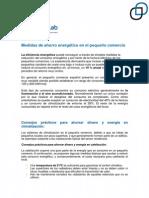 Medidas de Ahorro Energetico en El Pequeno Comercio (1)