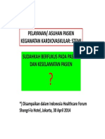 Critical Thinking in Scenario Intervention, Nursing Approach - Rita Sekarsari (1)