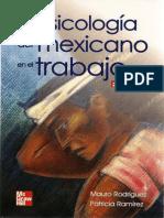 Psicologia Del Mexicano en Trabajo