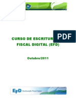 Curso EFD Outubro 2011
